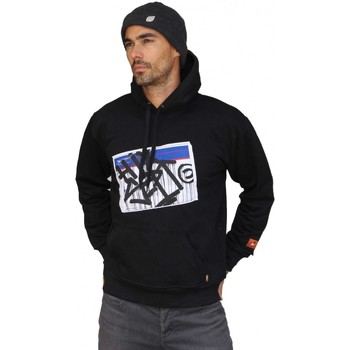 Vêtements Homme Sweats Hixsept Hoodie  Priority Sweat capuche Noir