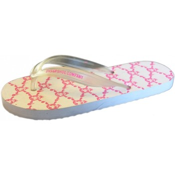 Chaussures Femme Tongs DVS Tongs  PESO White pink T38 rouge