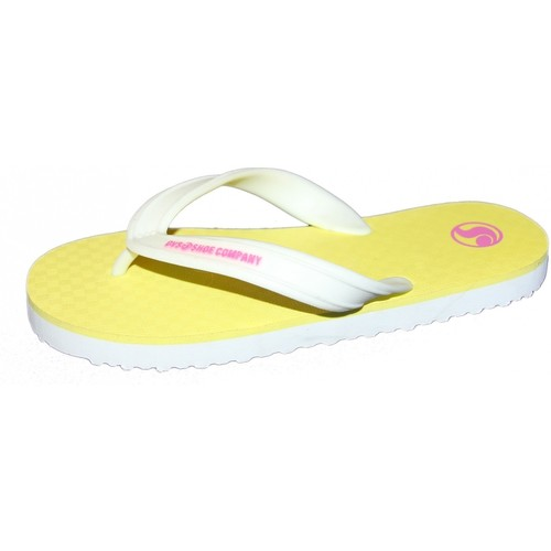 DVS Tongs  PESO Yellow pk T38 Taille 38 jaune - Chaussures Tongs Femme