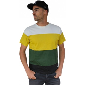 Vêtements Homme T-shirts manches courtes Qwst Tee shirt  System Artist edition Multicolore