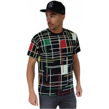 T-shirts manches courtes Qwst Tee shirt  Mondrian Black