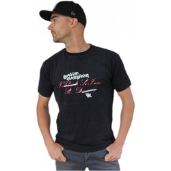 T-shirts manches courtes Qwst Tee shirt  Theodor Black