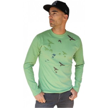 Vêtements Homme Sweats Hixsept Tee-shirt graffiti  Envolgreen Vert
