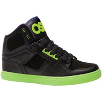 Chaussures Homme Baskets montantes Osiris NYC 83 VLC Black Lime purple EU42 9US Noir