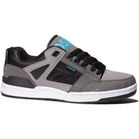 Chaussures Homme Baskets basses Osiris Sample  DEVISE Black charcoal cyan EU42 9US Gris