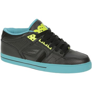 Chaussures Homme Baskets montantes Osiris Sample  NYC 83 Black teal white EU42 US9 Noir