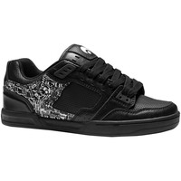 Chaussures Homme Baskets basses Osiris Sp  CINUX Black white hesh EU42 9US Noir