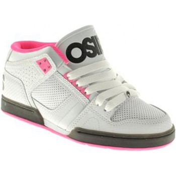 Chaussures Osiris Sneakers Homme Sample NYC 83 MID White pink black EU37.5 USW7 D