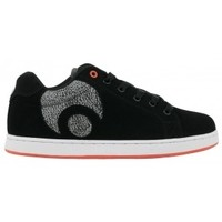 Chaussures Homme Baskets basses Osiris Sample TROMA ICON Black white orange EU42 9US Blanc