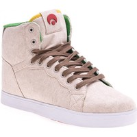 Chaussures Homme Baskets montantes Osiris Sp GROUNDS Rasta Tan brown EU42 9US Beige