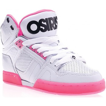 Chaussures Homme Baskets montantes Osiris Sp  NYC 83 SLM White pink zebra EU37.5 USW7 Multicolore