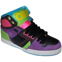 Chaussures Homme Baskets montantes Osiris Sp  NYC 83 SLM  Metal black lime EU37.5 W7US Multicolore