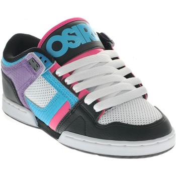 Chaussures Homme Baskets basses Osiris Sp  NYC 83 Low Black Cyn Prpl EU37.5 USW7 Multicolore