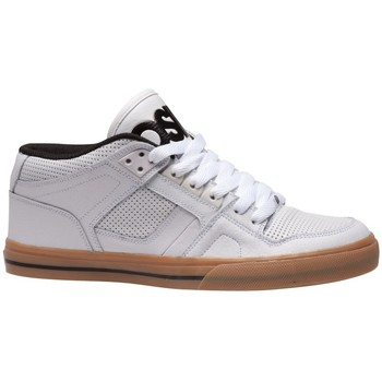 Chaussures Homme Baskets montantes Osiris Sp  NYC 83 MID Vlc White black gum EU42 9US Blanc