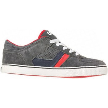 Chaussures Homme Baskets basses Osiris Sp Chino Low Charcoal navy red EU42 9US Gris