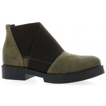 Chaussures Femme Boots Nuova Riviera Boots cuir nubuck Taupe