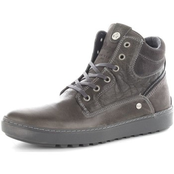 Chaussures Homme Baskets montantes Wrangler WM162010 Basket Homme Antracite Antracite