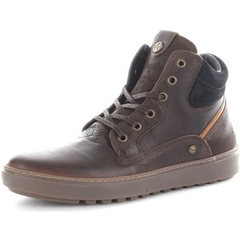 Chaussures Homme Baskets montantes Wrangler WM162010 Basket Homme Brown Brown