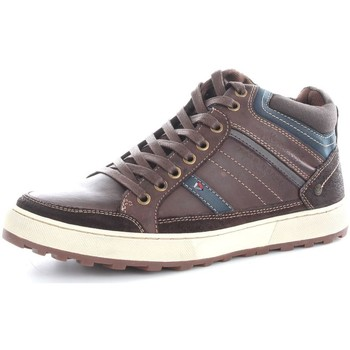 Chaussures Homme Baskets montantes Wrangler WM162130 Basket Homme Brown Brown