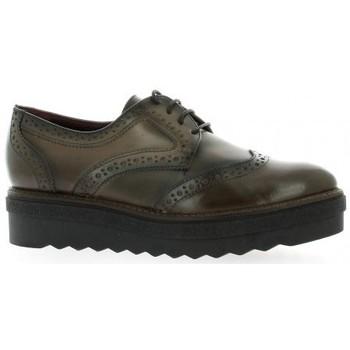 Chaussures Femme Derbies Donna Più Derby cuir Marron