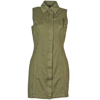 Vêtements Femme Robes courtes Diesel D-NAOMIE Kaki