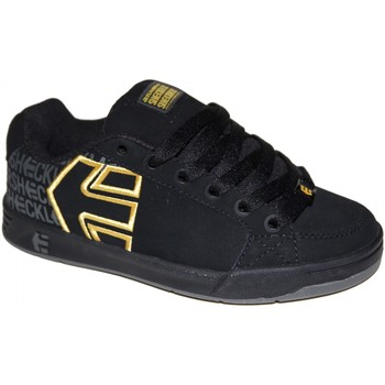 Chaussures Garçon Baskets basses Etnies samples shoes  SHECKLER 3 BLACK YELLOW GREY KIDS / ENF Multicolore
