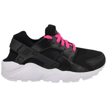 Chaussures Garçon Baskets basses Nike Air Huarache Run Junior - Ref. 654280-007 Noir