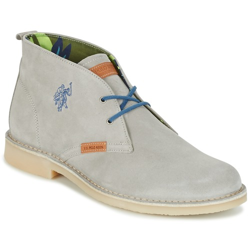 Chaussures Homme Boots U.S Polo Assn. AMADEUS Gris