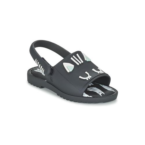 Chaussures Fille Sandales et Nu-pieds Melissa MIA FABULA Noir