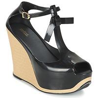 Chaussures Femme Sandales et Nu-pieds Melissa PEACE VI Noir / Beige