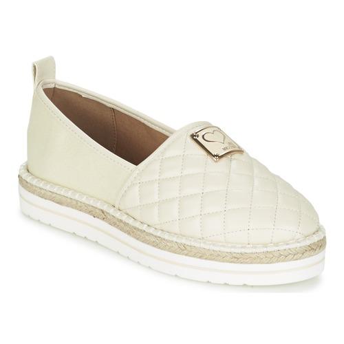 Chaussures Femme Espadrilles Love Moschino JA10093G13 Creme