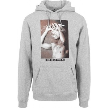 Vêtements Homme Sweats Mister Tee Sweat 2Pac x  Only God Can Judge Me Hoody Gris Gris