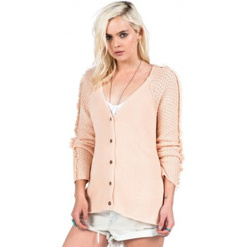 Vêtements Femme Pulls Volcom Pull  Hazy Day Cardigan - Soy Rose