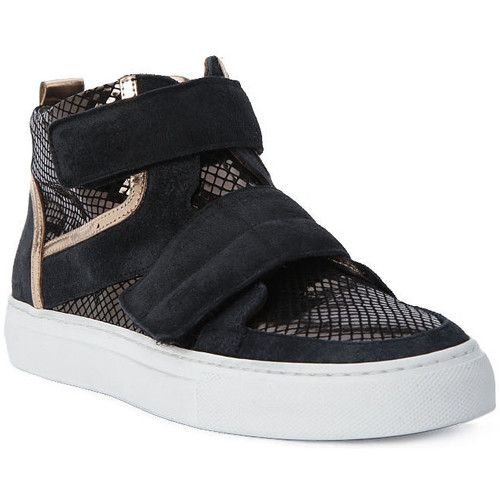 Chaussures Homme Baskets montantes Logan CROSSING Marrone
