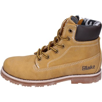 Chaussures Garçon Boots Blaike chaussures garçon  bottines jaune cuir AH151 jaune