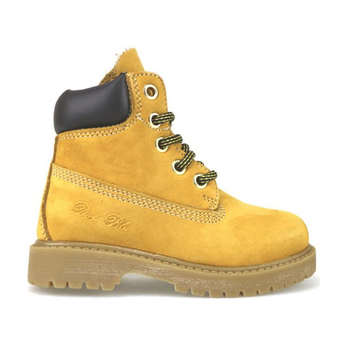 Chaussures Fille Boots Didiblu chaussures fille DIDIbleu bottines jaune cuir scamosciata brun f multicolor