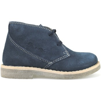 Chaussures Fille Bottines Didiblu DIDIbleu bottines bleu daim AH177 bleu
