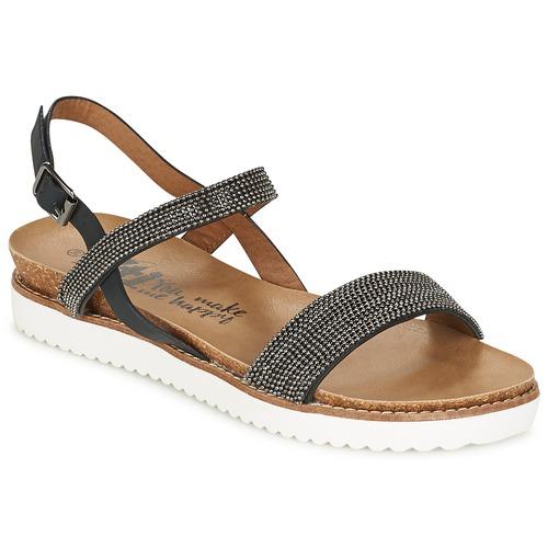 Chaussures Femme Sandales et Nu-pieds Xti POUS Noir