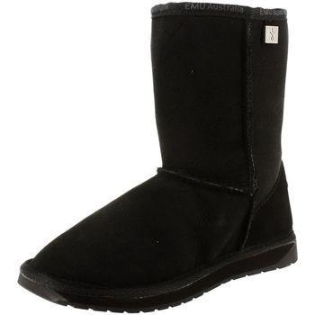 Chaussures Femme Bottes de neige EMU platinum stinger lo noir