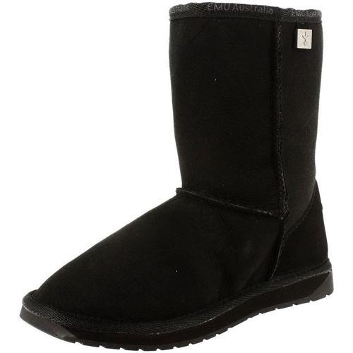 EMU platinum stinger lo noir - Chaussures Bottes de neige Femme