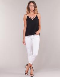 Vêtements Femme Jeans 3/4 & 7/8 Gaudi PODALI Blanc