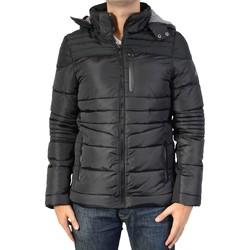 Vêtements Homme Doudounes Deeluxe W16623 Hero Black Noir