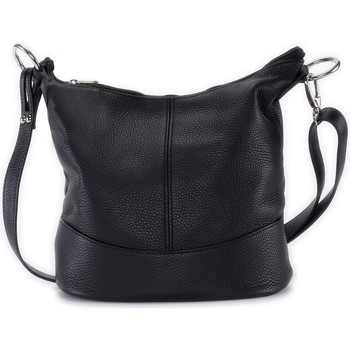Sacs Femme Sacs Bandoulière Oh My Bag Sac à main femme en cuir - Modèle Beaubourg noir NOIR