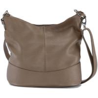 Sacs Femme Sacs Bandoulière Oh My Bag Sac à main femme en cuir - Modèle Beaubourg taupe foncé TAUPE FONCE