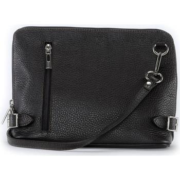 Sacs Femme Sacs Bandoulière Oh My Bag Sac à main bandoulière en cuir femme - Modèle Mia noir NOIR