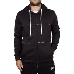 Vêtements Homme Sweats Hype Homme Taping Logo Panel Zip Hoodie, Noir noir