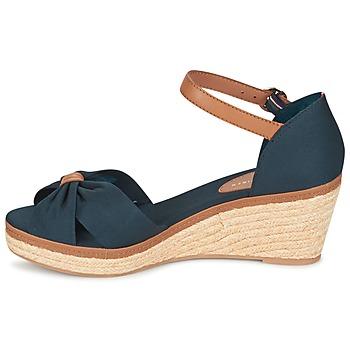 c75216fab536 Chaussures Femme Sandales et Nu-pieds Tommy Hilfiger ELBA 40D Marine ...
