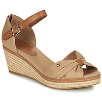 Chaussures Femme Sandales et Nu-pieds Tommy Hilfiger ELBA 40D Beige / Marron