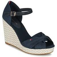 Chaussures Femme Sandales et Nu-pieds Tommy Hilfiger ELENA 3DI Marine