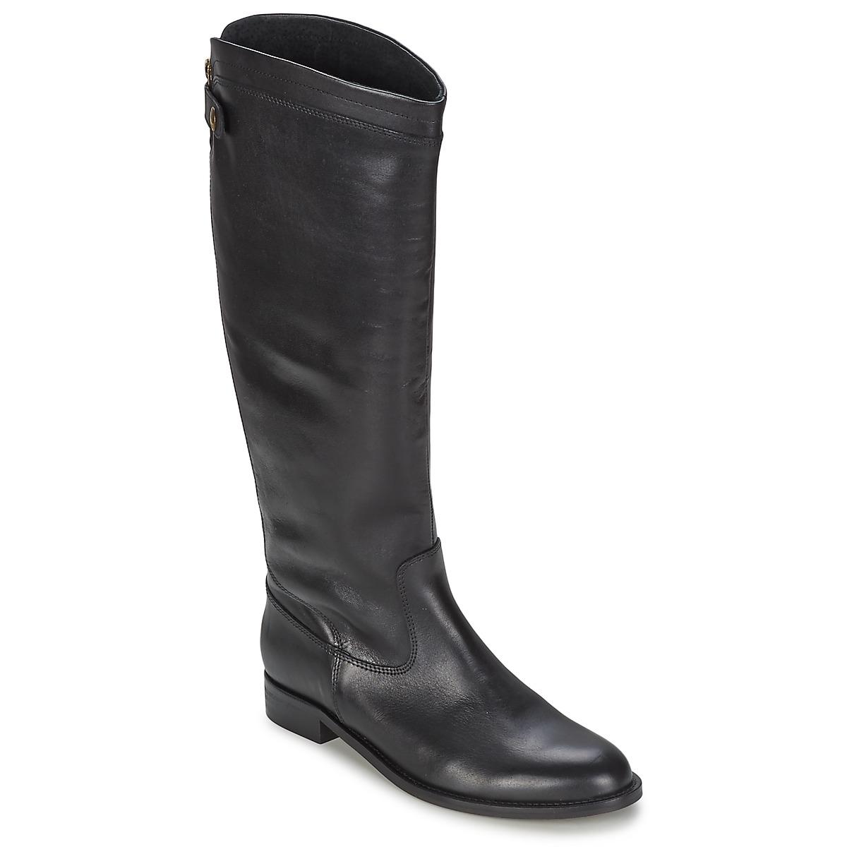 Jonak HUTA Noir - Livraison Gratuite avec  - Chaussures Botte ville Femme